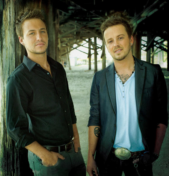 Stephen Barker Liles, left, and Eric Gunderson make up the country music duo Love and Theft. They will play Saturday at Hollywood Casino at Charles Town in Charles Town, W.Va.