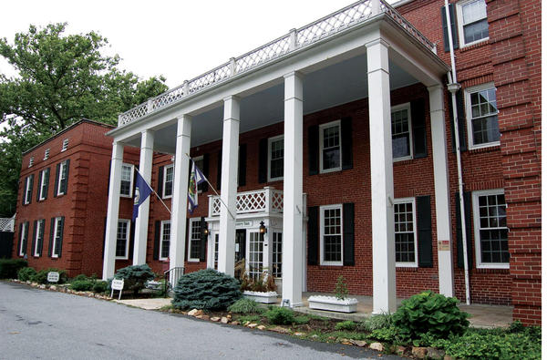 The Country Inn, 110 S. Washington St. in Berkeley Springs, W.Va., will be auctioned at noon on Wednesday, Aug. 28, 2013.