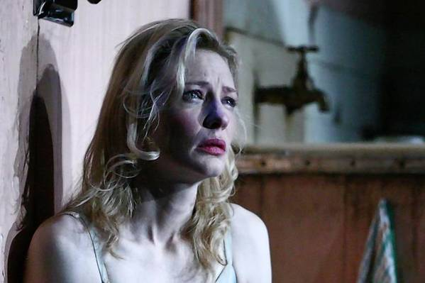 "Cate Blanchett starred as Blanche in the Sydney Theatre Company's revival of Tennessee Williams' ""A Streetcar Named Desire."""