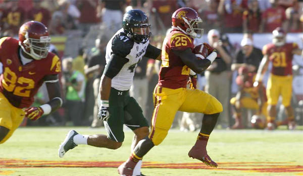 USC's season opener on Aug. 29 in Hawaii will be the first of the Trojans' two Thursday night games, the second, on Oct. 10, brings Arizona to the Coliseum.