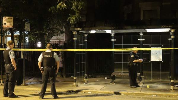 Police investigate a shooting that left a 26-year-old man wounded in the leg.