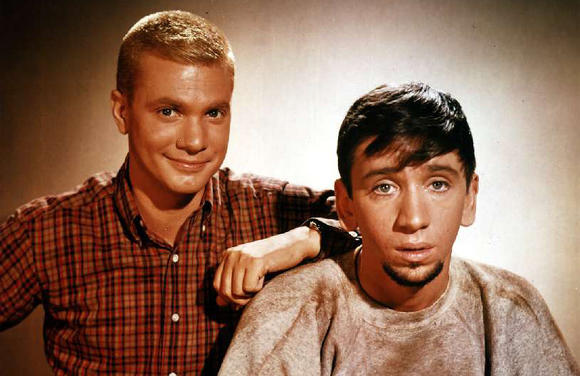Dwayne Hickman and Bob Denver