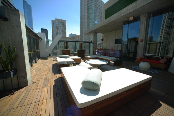 Lolla parties kick off today at River North's revamped Vertigo Sky Lounge.