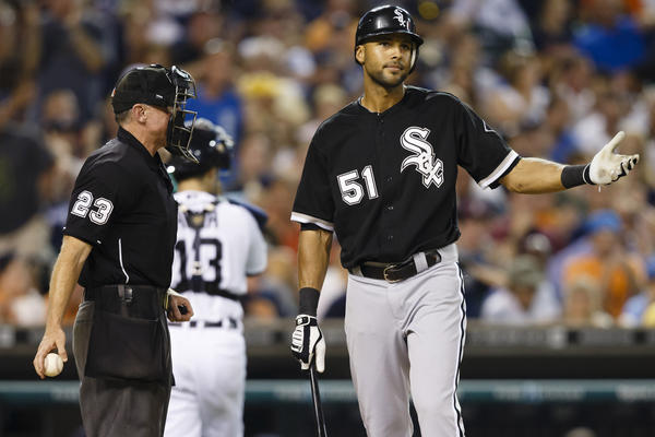 Somehow, Alex Rios is still with the White Sox this season.