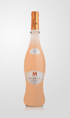 Dry and aromatic with the scent of citrus and flowers, M de Minuty is a blend of Grenache with Cinsault and the local Tibouren grape. And it tastes of  wild strawberries.