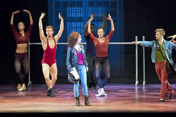 "The national touring production of ""Flashdance The Musical."""