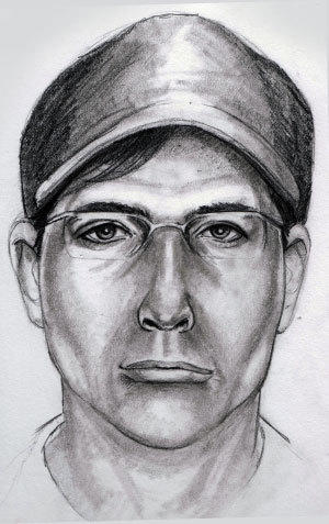 A police sketch of the person wanted in connection with the 2012 kidnapping of Cal Ripken Jr.'s mother.