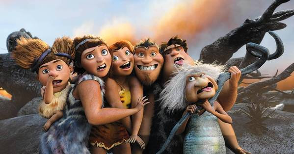 "A scene from ""The Croods."""
