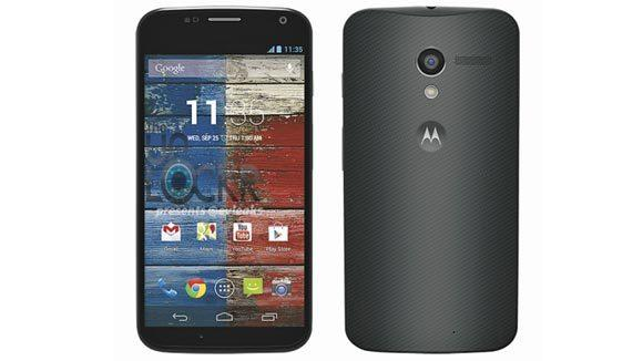 Motorola unveiled it's U.S. made phone the Moto X on Thursday.