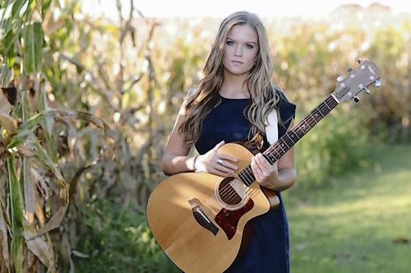 "Piper Bateman,of Fallston, is preparing to shoot a music video performing her self-penned song ""Finally a Refugee."""