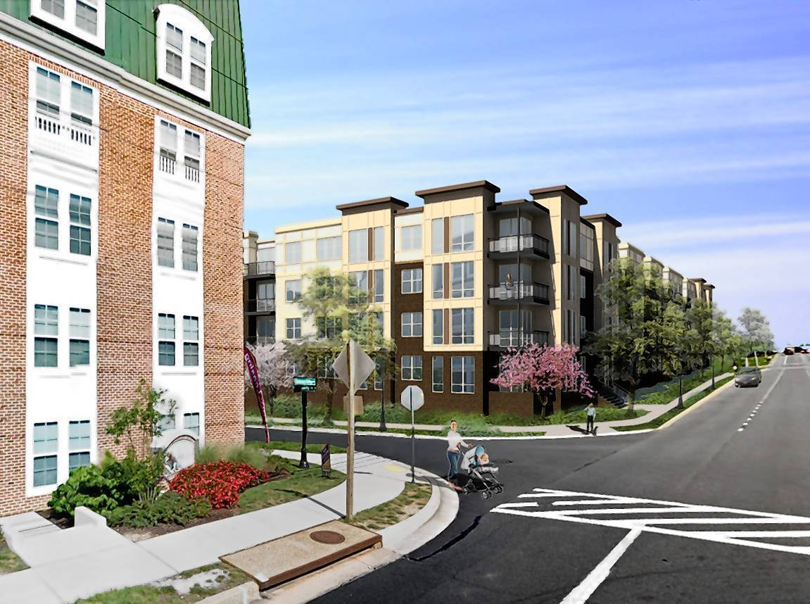 development under way on towson luxury apartments baltimore sun
