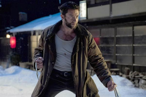 "Logan (Hugh Jackman) fights his greatest battle in the movie ""The Wolverine."""