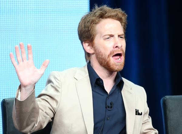 "Actor Seth Green speaks onstage during the ""Dads"" panel discussion at the FOX portion of the 2013 Summer Television Critics Association tour - Day 9 at The Beverly Hilton Hotel on August 1, 2013 in Beverly Hills, California."