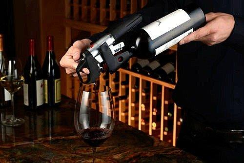 Coravin's new wine preservation system means you can pour a glass of wine without removing the cork.