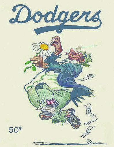 """Willard Mullin's Golden Age of Baseball Drawings, 1934-1972"""