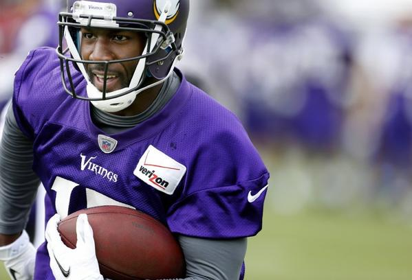 Greg Jennings went from the Packers to the Vikings in the off-season.