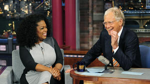 Oprah and David Letterman talk meditation, mantras