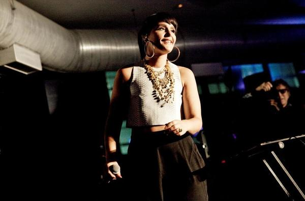 Singer Jessie Ware performs at the Symmetry Live party at the W Chicago-Lakeshore hotel Aug. 1, 2013.