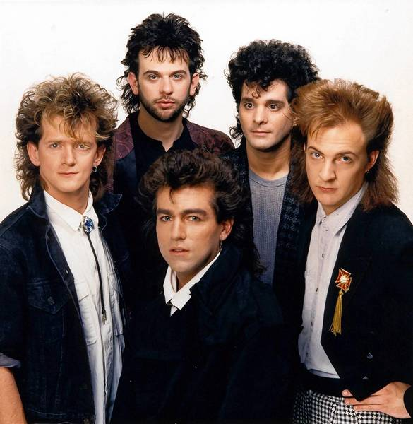 Lehigh Valley rock group Magnum included (clockwise from left) Dave Werkhiser, Lon Warner, Tommy Zito, Kent Warner, and Michael DeFrank.