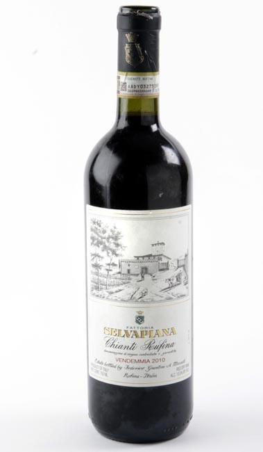2010 Fattoria Selvapiana Chianti Rufina.