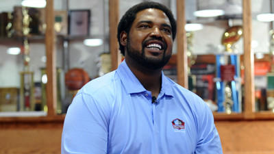 Jonathan Ogden 'honored' and reflective as he prepares for Satu…