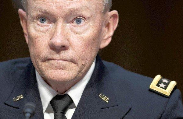 "Gen. Martin Dempsey, chairman of the Joint Chiefs of Staff, said the terrorism alert was based on ""a significant threat stream."""