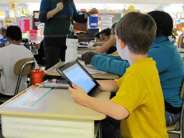Students and teachers began using iPads in class during the 2012-2013 school year and hundreds of students will now get their own device.