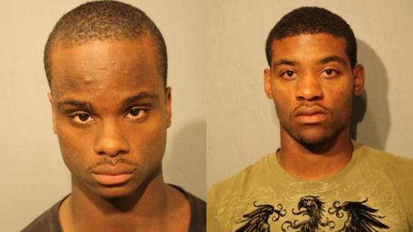Tyrese Pearson, 17, and Laquan Waters, 18,