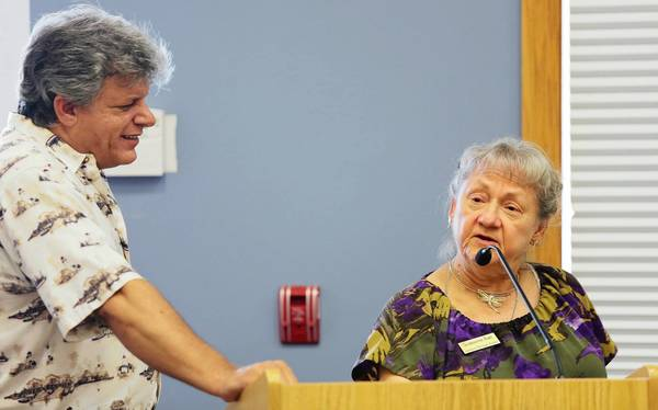 "On July 11, Glorianne Fahs and Bob Grenier launch their book, ""Images of America: Leesburg,"" at Leesburg Public Library."