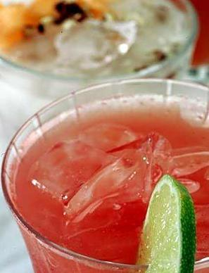 "Right now, you can find a pretty watermelon aguas frescas laced with lime.<br> <a href=""http://www.latimes.com/features/la-fo-aguas"