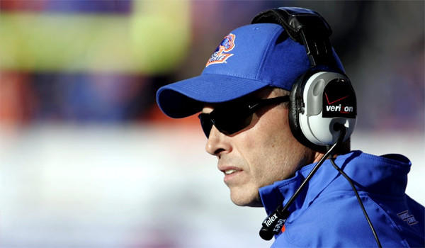 """Times national football writer Chris Dufresne has Coach Chris Peterson's Boise State squad as one of his top teams that could be be this year's """"BCS buster."""""""