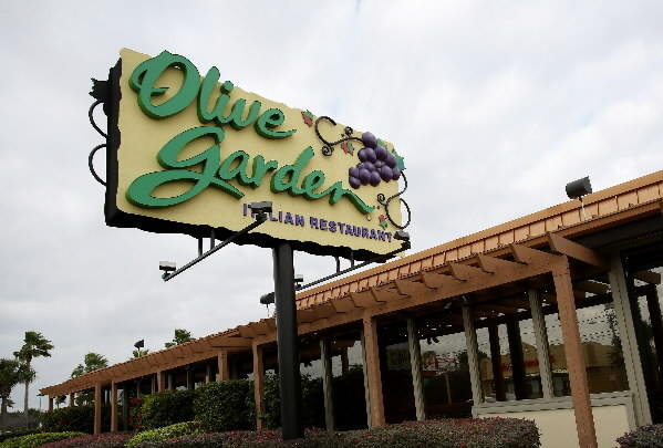 Olive Garden on East Colonial Dr. near the Fashion Square Mall.