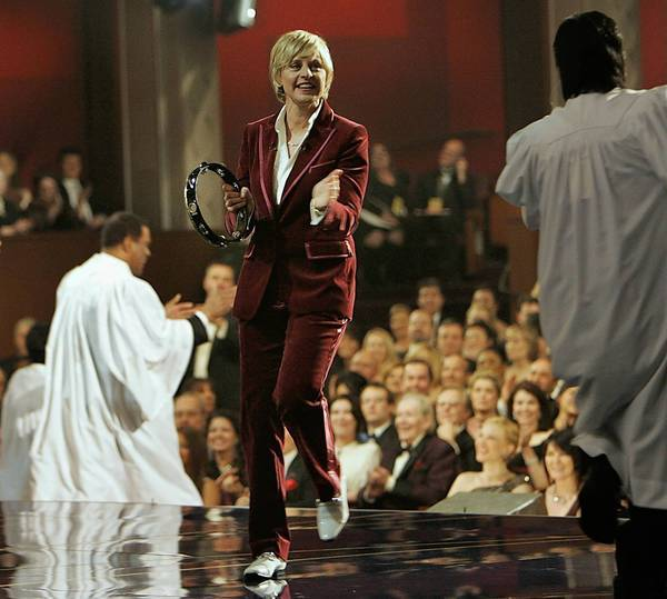 Ellen DeGeneres hosted the 79th Academy Awards in 2007.