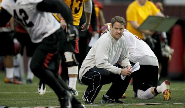Lane Kiffin looks to put USC's disappointing 7-6 season in the past as training camp opens for the Trojans on Saturday.