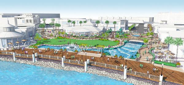The Redondo City Council voted Tuesday to move forward with an environmental review of a multimillion-dollar redevelopment of its waterfront district.
