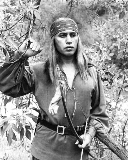 "Michael Ansara appears as Cochise in ""Broken Arrow."""