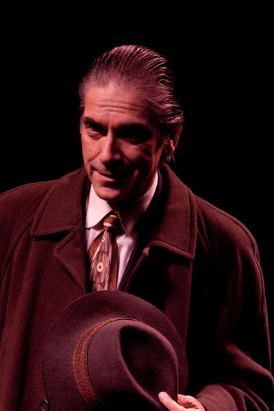 "Eric Zivot plays Willy Loman in ""Death of a Salesman."""