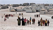 International concern rises as Syria's neighbors limit refugee flow