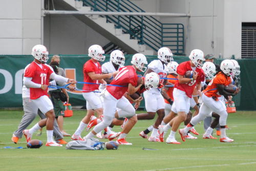 The Miami Hurricanes returned to practice in better shape this August.