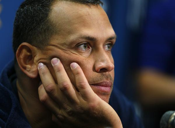 Yankees third baseman Alex Rodriguez. (Getty Photo)