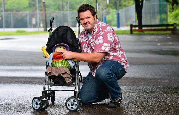 The sweet baby in Spencer Soper's stroller can save you money at Musikfest.