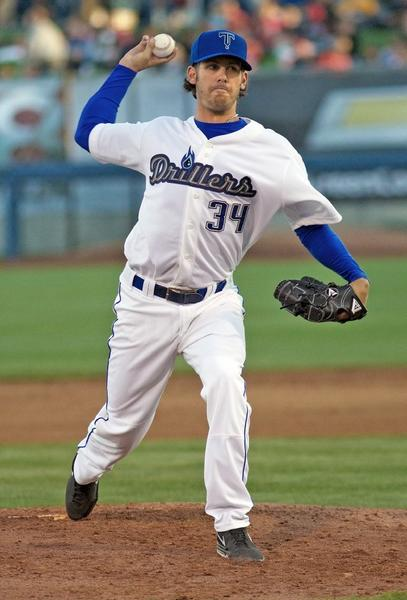 ARCHIVE PHOTO: St. Francis High graduate Christian Bergman recorded his third career shutout in the Colorado Rockies organization Friday with the Tulsa Drillers.