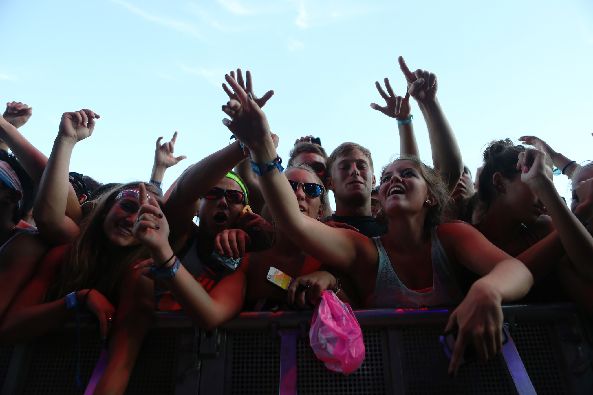 Photos: 2013 Lollapalooza Day Two - Fans react to Kendrick Lamar