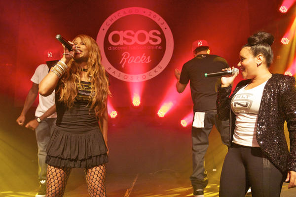 Salt-n-Peppa perform at the ASOS Rocks! party at the Hard Rock Hotel Aug. 3, 2013.