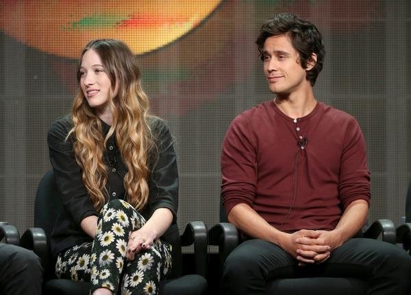 "Sophie Lowe and Peter Gadiot, stars of ABC's upcoming ""Once Upon a Time in Wonderland,"" talk about the show during a TCA panel discussion."