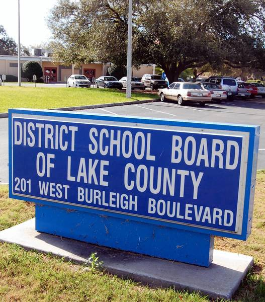 Lake County school district headquarters in Tavares.