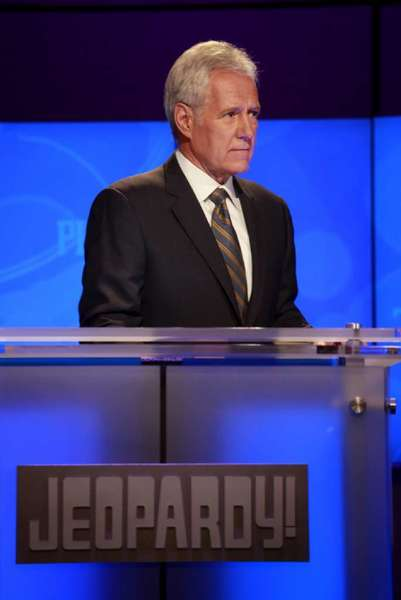 "Alex Trebek is the longtime host of the TV game show ""Jeopardy!"""