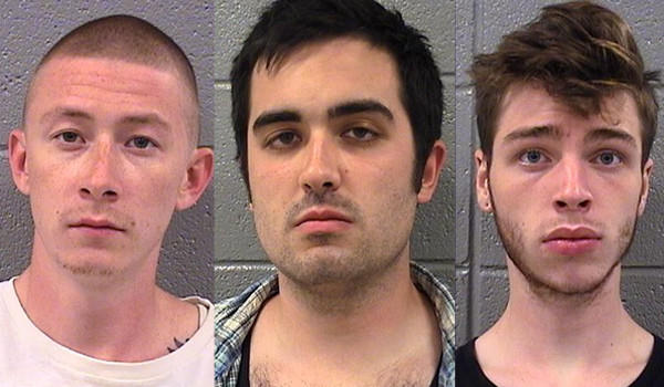 Sean Magee, 24, Anthony Nelson, 24 and Dylan Horach, 18, all appeared in court Sunday after being arrested on felony drug charges related to Lollapalooza.