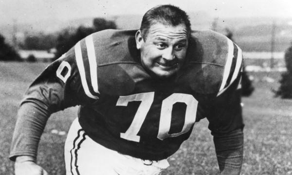 Former Baltimore Colts defensive end Art Donovan was remembered as a great storyteller.