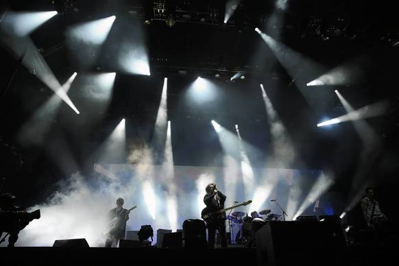 The Cure headlines the final night of Lollapalooza.
